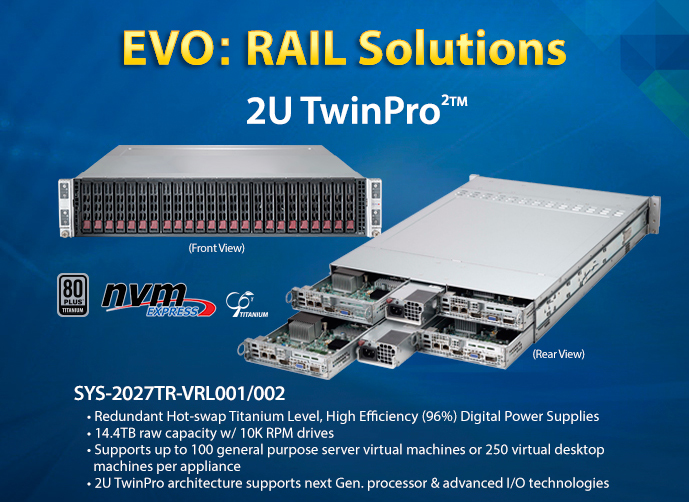 Introducing Supermicro EVO:RAIL Solutions