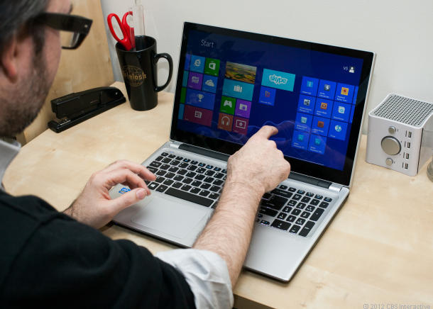 Acer Predict that touchscreen laptops will be common place come 2014