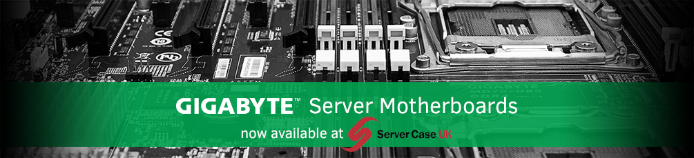 Gigabyte Server Motherboards and Barebones from Server Case UK