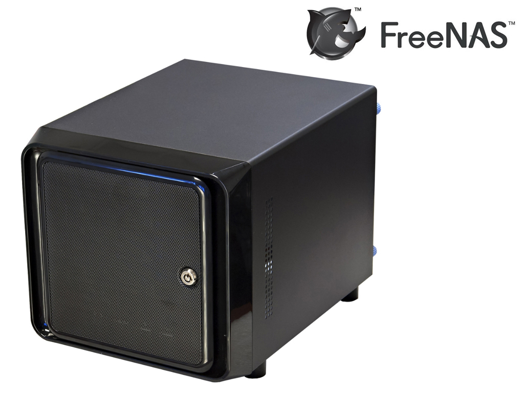 Mini FreeNAS Desktop System from Server Case UK