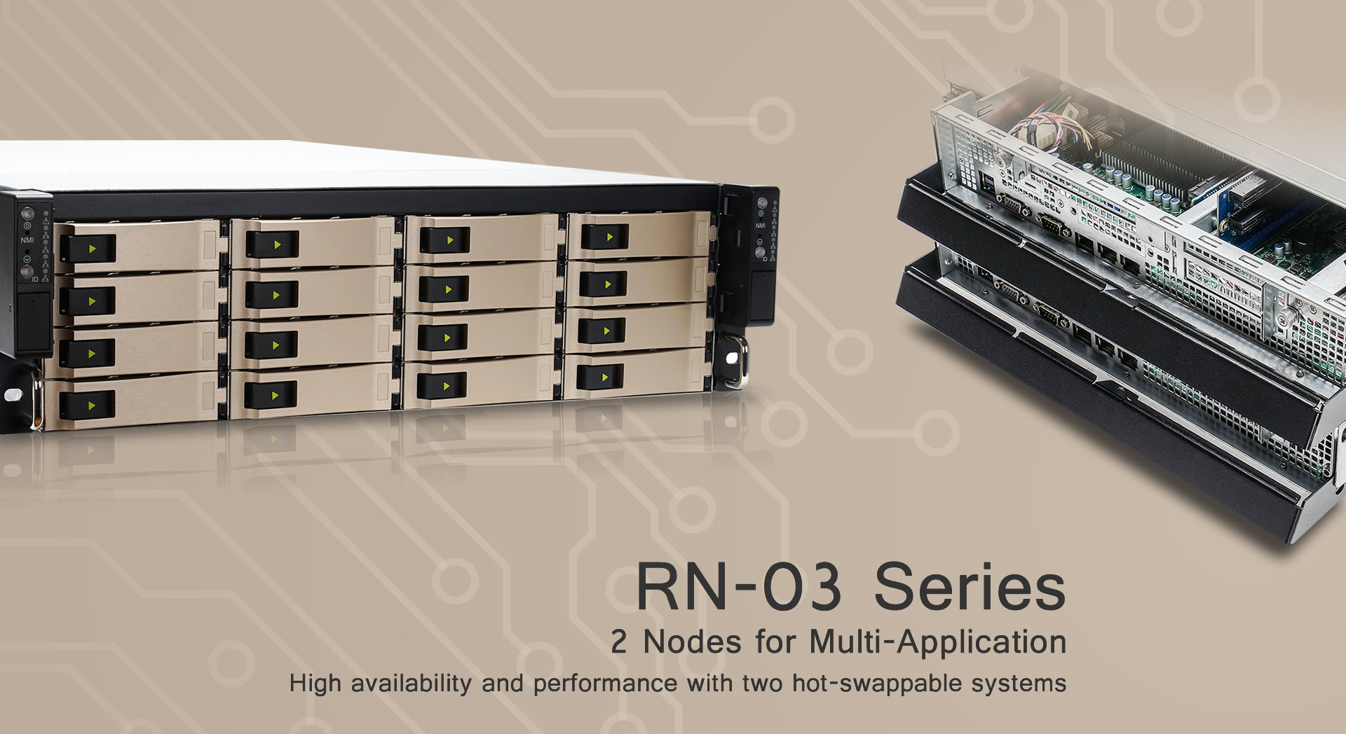 View our In-Win Server Chassis Range