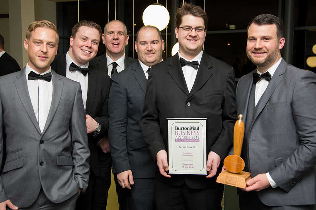 Server Case UK Nominated for Burton Mail Small Business of the Year Award