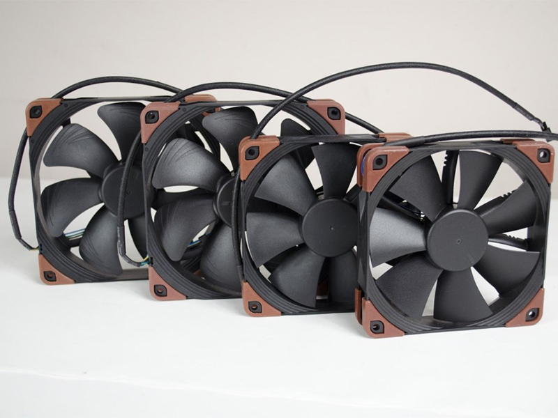 Tech Help - Can you change the fans to make the system quieter?