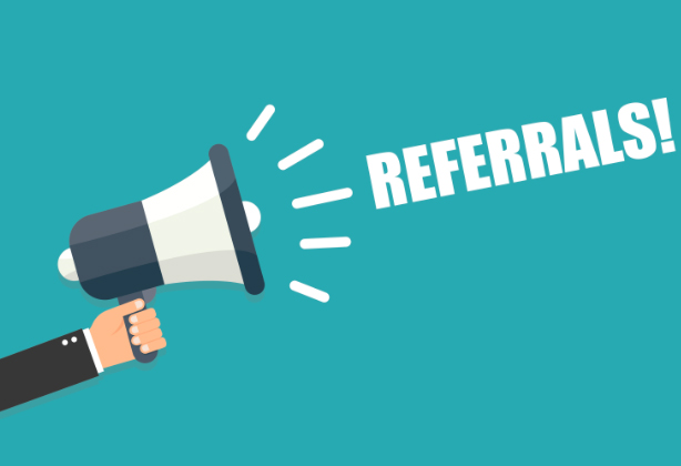 How we can help - Do you offer any referral schemes?
