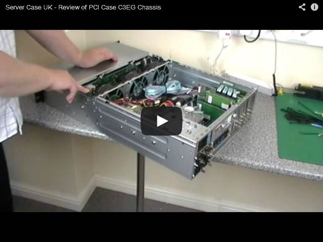 YouTube Video Review � PCI Case C3EG