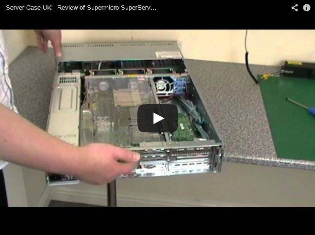 YouTube Video Review - Supermicro SuperServer 5027R-WRF  Server Build