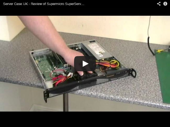 YouTube Video Review - Supermicro SuperServer SYS-5017R-MF Server Build