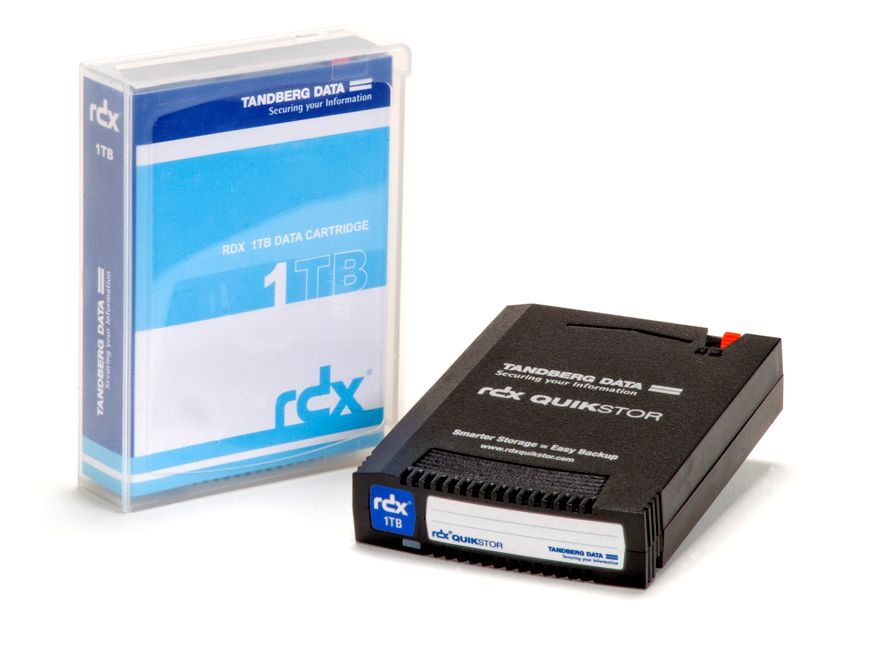 Tandberg RDX - Easy to use, Secure and Fast Backups