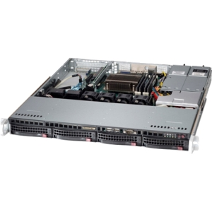 Supermicro SuperServer 5018D-MTRF Barebone System - 1U Rack-mountable - Intel C224 Express Chipset - Socket H3 LGA-1150 - 1 x Processor Support - Blac