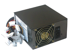 550W ATX PS/2 Server Grade PSU - 80 Plus Bronze - 2x 80mm Fans
