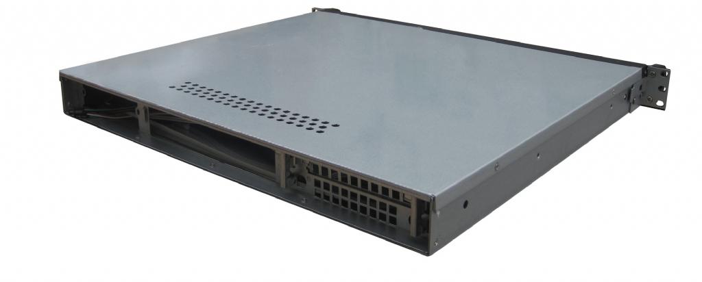 Rack Mountable Server Chassis Case 1U 400MM Short Depth for ITX MB