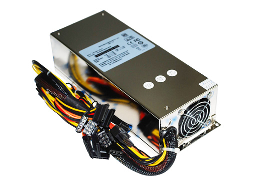 Single 2U 500W 80 Plus PSU