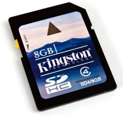 Kingston 8gb High Capacity Secure Digital Card
