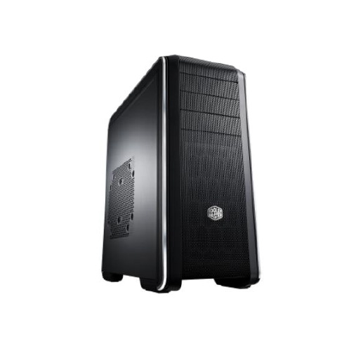 COOLER MASTER 693 window Transprent side window Black bezel  Black interior coating