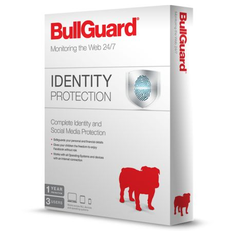 Bullguard Identity Protection Retail (10 Pack) 1 Year 3 Users