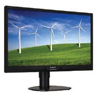 Philips 241B4LPYCB/00 (24 inch) LCD Monitor with LED Backlight 1920x1080 VGA DVI (Black)