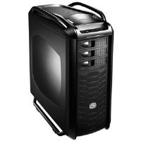 Cooler Master Cosmos COS-5000-KWN1 Computer Case - ATX, Micro ATX, Mini ITX Motherboard Supported - Full-tower - Steel, Aluminium - Midnight Black