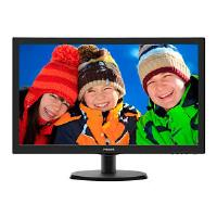 Philips 223V5LHSB/00 (21.5 inch) LCD Monitor with LED Backlight 1920x1080 (Black)