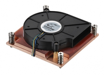 1U Active Heatsink With Side Flow Fan (Socket LGA 2011)