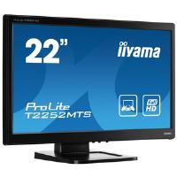 Iiyama ProLite T2252MTS-3 (21.5 inch Multi-touch) LED Backlit LCD Monitor 1000:1 220cd/m2 (1920x1080) 2ms VGA/DVI/HDMI (Black)