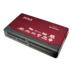 Dynamode USB 6 Slot Multi Card Reader (SDHC, Mini SD, MicroSDHC, XD Picture Card, Memory Stick, MMC Mobile+)