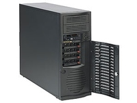 Supermicro SuperChassis SC733T-500B Computer Case - EATX Motherboard Supported - Mid-tower - Black