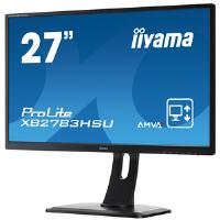Iiyama ProLite XB2783HSU (27 inch) LED Backlit LCD Monitor 3000:1 300cd/m2 (1920x1080) 4ms D-Sub/DVI-D/HDMI/USB/Headphone (Black)