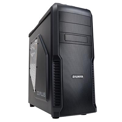 Zalman Case Mid Z3 Plus Black