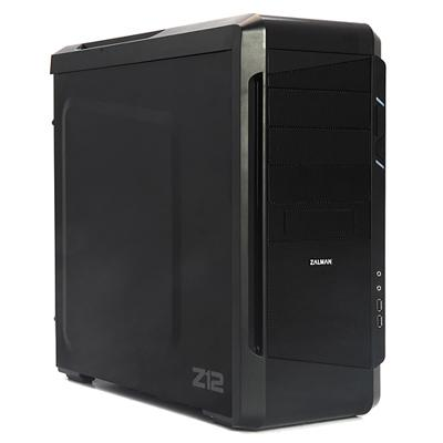Zalman Z12 Computer Case - ATX, Micro ATX Motherboard Supported - Mid-tower - Steel, Plastic - Black