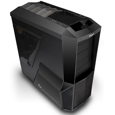 Zalman Z11 Computer Case - ATX, Micro ATX Motherboard Supported - Mid-tower - Plastic, Steel - Black