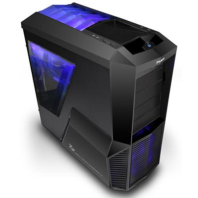 Zalman Z11 Plus Computer Case - Micro ATX, ATX Motherboard Supported - Mid-tower - Steel, Plastic - Black