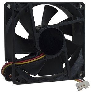 Server Case Fan 80mm x 80mm x 25mm deep