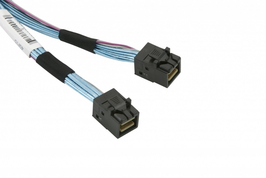 Supermicro Internal MiniSAS HD SFF-8643 25cm Cable
