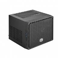 Cooler Master Elite RC-110-KKN2 Computer Case - Mini ITX Motherboard Supported - Mini-tower - Polymer, Mesh, Steel, Plastic - Midnight Black