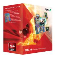 AMD A4 Series Dual Core (A4-4020) 3.4GHz Accelerated Processing Unit (APU) 1MB with Radeon HD 7480D Graphics Card