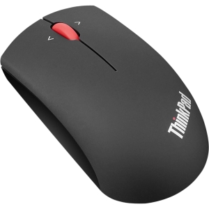 Lenovo Mouse - Blue Optical - Wireless - Midnight Black