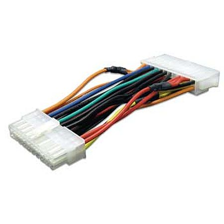 Akasa 24-pin to 20-pin PSU Adapter 10cm