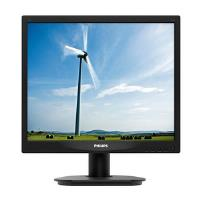 Philips 17S4LSB/00 (17 inch) S-Line Display VGA DVI-D 1280 x 1024 (Black)