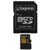 Kingston (16GB) MicroSDHC Media Card Ultra High Speed  (Class 10)