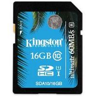 Kingston Ultimate 16 GB Secure Digital High Capacity (SDHC)