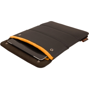 Urban Factory Carrying Case (Sleeve) for iPad - Brown, Orange