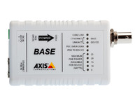 AXIS T8640 Ethernet Over Coax Adaptor PoE+ - Media converter - 10Base-T, 100Base-TX - RJ-45 / BNC ( pack of 2 ) - for AXIS P1346, P1346-E, P5534, P553