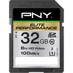 PNY Elite Performance 32 GB Secure Digital High Capacity (SDHC)