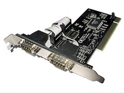Dynamode Dual Port High-Speed Serial (RS232) Adaptor PCI Card