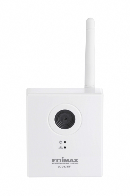 Edimax PlugnView IC-3115W 1.3 Megapixel Network Camera - 1 Pack - Colour