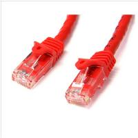 StarTech.com 2m Red Gigabit Snagless RJ45 UTP Cat6 Patch Cable - 2 m Patch Cord