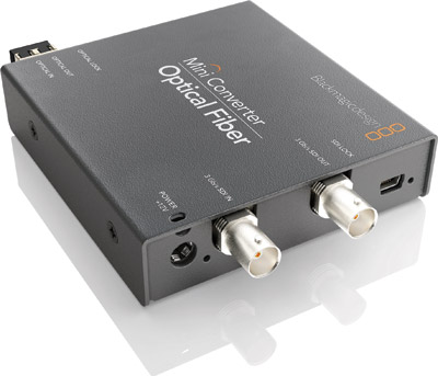 BLACKMAGIC Mini Converter Optical Fiber