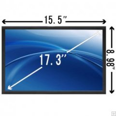 "17.3"" REPLACEMENT HD LED A+ Resolution: WXGA HD+ (1600 x 900)"