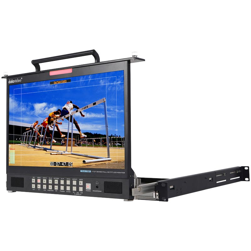 DATAVIDEO TLM-170 (PM) 1U Foldable Rackmount Tray Unit