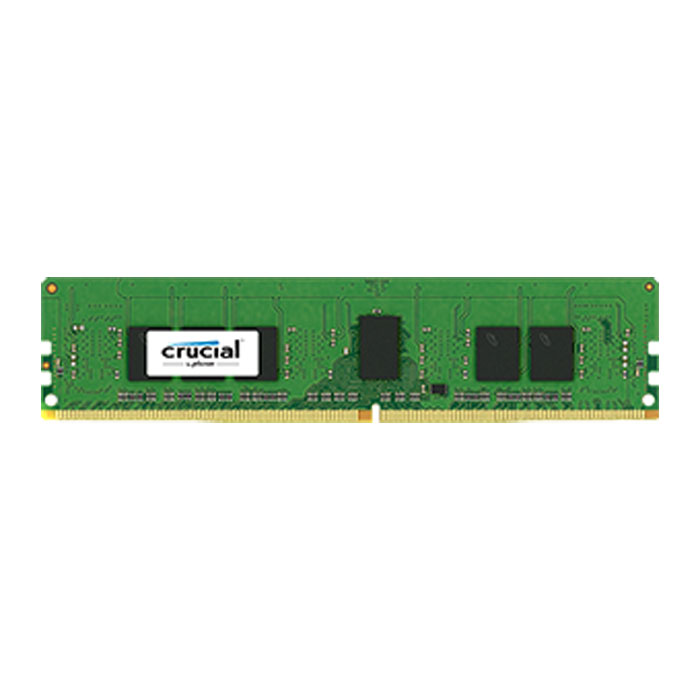 16GB Crucial DDR4 Server Memory, PC4-17000 (2133), ECC Registered, CAS 15, Dual Ranked, 1.2V, Single Module